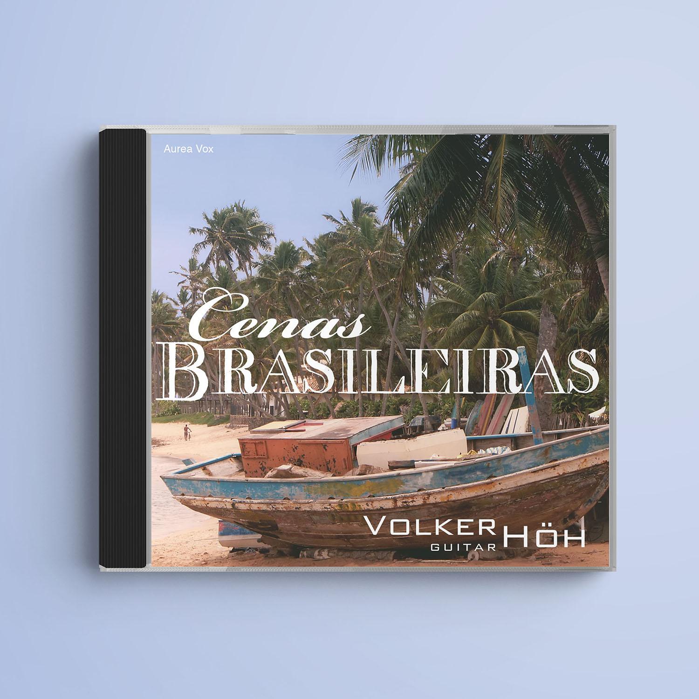 CD Cenas Brasileiras von Volker Höh, Gestaltung Marius Cofflet form 206