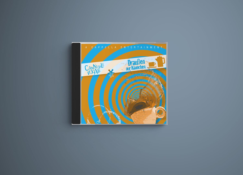 CD Draußen nur Kännchen von Cannibale Vocale, Gestaltung Marius Cofflet form 206